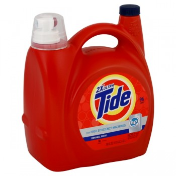 Tide 2X Ultra Concentrated Liquid Laundry Detergent HE Original Scent
