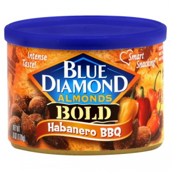 Blue Diamond Almonds Bold Habanero BBQ