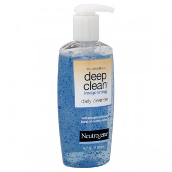 Neutrogena Deep Clean Invigorating Daily Cleanser Pump