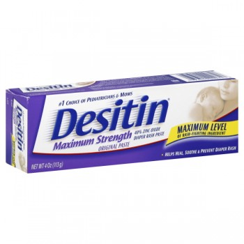 Desitin Diaper Rash Paste Maximum Strength Original