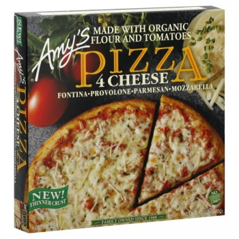 Amy's Pizza Four Cheese Organic Frozen