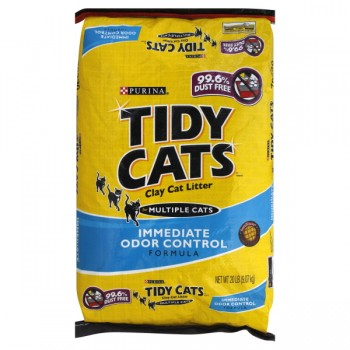 Tidy Cats Clay Cat Litter Immediate Odor Control