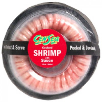 Shrimp Ring with Cocktail Sauce - 61-70 ct Frozen