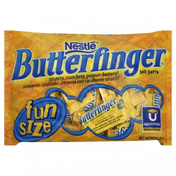 Nestle Butterfinger Bars Fun Size