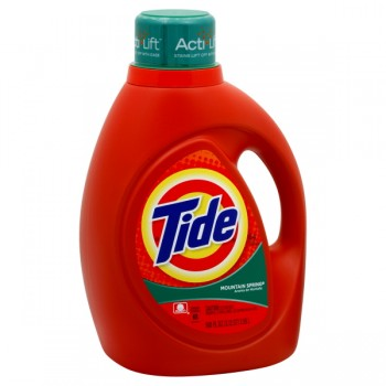 Tide Liquid Laundry Detergent Mountain Spring Scent