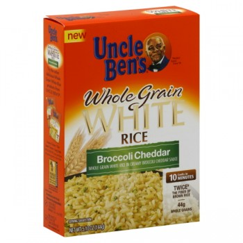 Uncle Ben's Rice White Whole Grain Broccoli Cheddar