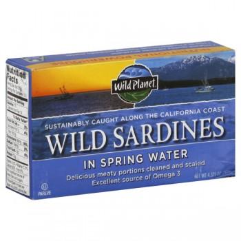Wild Planet Sardines Wild in Spring Water