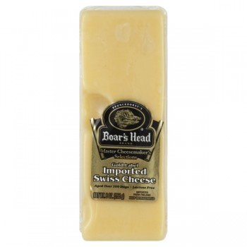 Boar's Head Master Cheesemaker's Cheese Swiss Gold Label Chunk