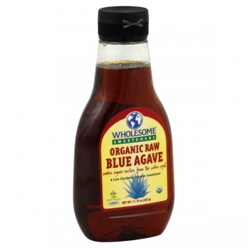 Wholesome Sweeteners Blue Agave Nectar Raw Organic