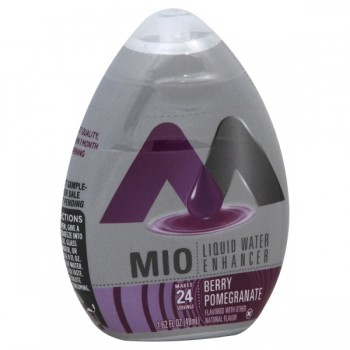 MIO Berry Pomegranate Liquid Water Enhancer - 24 Drops