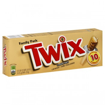 Twix Caramel Cookie Bars - 10 ct