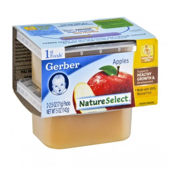 Gerber 1st Foods Nature Select Apples - 2 pk