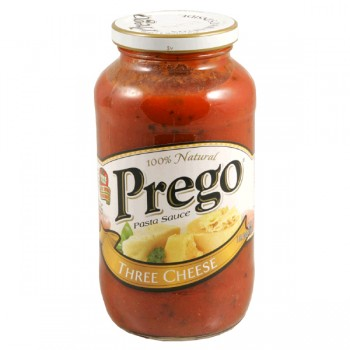 Prego Pasta Sauce Three Cheese