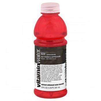 Glaceau Vitamin Water XXX Triple Antioxidants Acai Blueberry Pomegranate