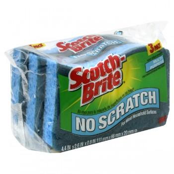 Scotch Brite Scrub Sponge Multipurpose No Scratch