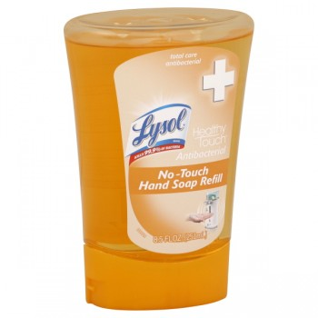Lysol Healthy Touch No-Touch Hand Soap Total Care Antibacterial Refill
