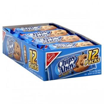 Nabisco Chips Ahoy! Cookies Snack Paks - 12 ct