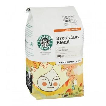 Starbucks Breakfast Blend Mild Coffee (Whole Bean)
