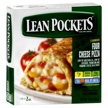 Lean Pockets Pizza Four Cheese - 2 ct