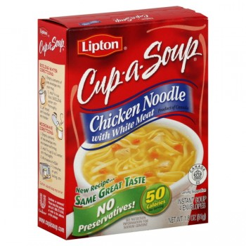 Lipton Cup-A-Soup Instant Soup Mix Chicken Noodle - 4 ct