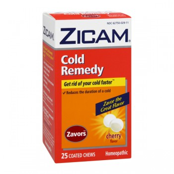 ZICAM Cold Remedy Homeopathic RapidMelts Cherry