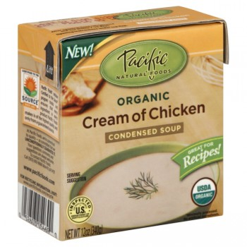 Pacific Natural Foods Condensed Soup Cream of Chicken Organic