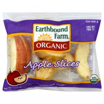 Earthbound Farm Apple Slices Organic