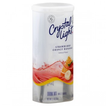 Crystal Light Strawberry Orange Banana Drink Mix - Makes 12 Quarts