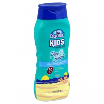 Coppertone Kids Pure & Simple Sunscreen Lotion Waterproof SPF 50