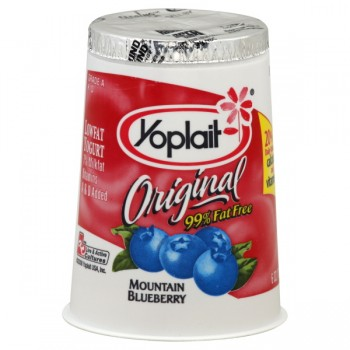 Yoplait Original Yogurt Blueberry 99% Fat Free