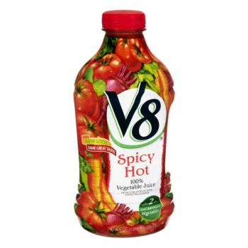 V8 100% Spicy Hot Vegetable Juice