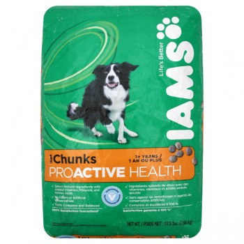 Iams ProActive Health Dry Dog Food Chunks 1+ Years