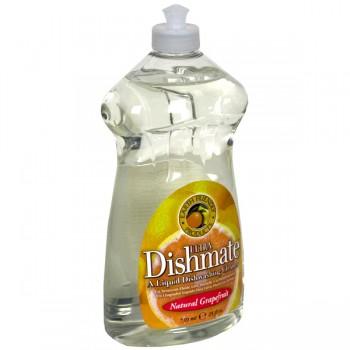 Earth Friendly Ultra Dishmate Dish Liquid Natural Grapefruit