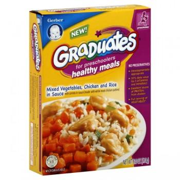 Gerber Graduates Preschool Healthy Meals Mixed Vegetables Chicken Rice