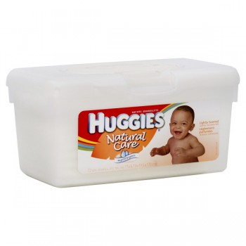 Huggies Natural Care Baby Wipes Scented