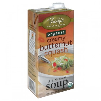 Pacific Natural Foods Creamy Soup Butternut Squash Organic