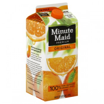 Minute Maid Premium Original Orange Juice Low Pulp
