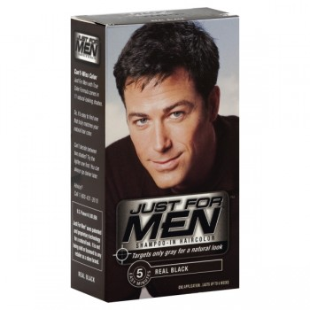Just For Men Shampoo-In Color Real Black