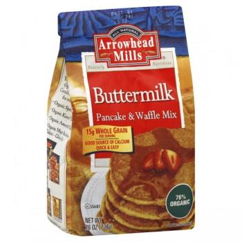 Arrowhead Mills Pancake & Waffle Mix Buttermilk Organic