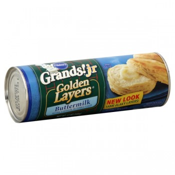 Pillsbury Grands! Jr. Biscuits Buttermilk Golden Layers - 10 ct