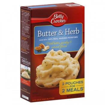 Betty Crocker Potatoes Mashed Butter & Herb