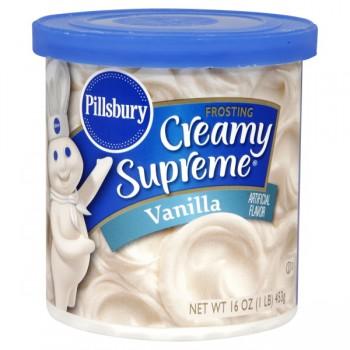 Pillsbury Creamy Supreme Frosting Vanilla