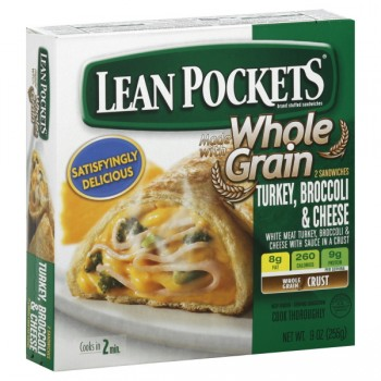 Lean Pockets Turkey, Broccoli & Cheese - 2 ct