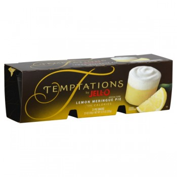 Jell-O Temptations Pie Snacks Lemon Meringue Pie - 3 pk