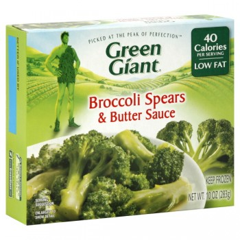 Green Giant Broccoli Spears in Butter
