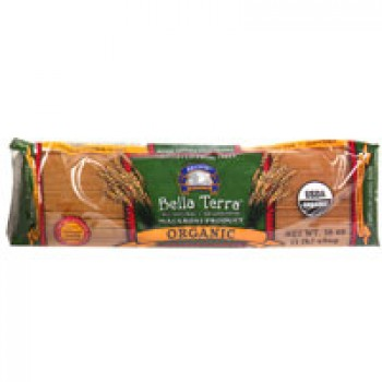Bella Terra Pasta Capellini 100% Whole Wheat All Natural Organic