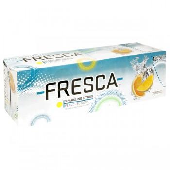 Fresca Sparkling Citrus Flavored Soda - 12 pk