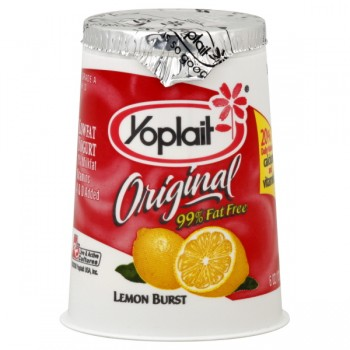 Yoplait Original Yogurt Lemon 99% Fat Free