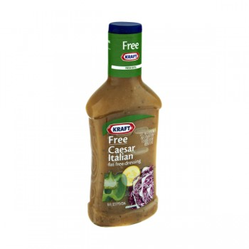 Kraft Free Salad Dressing Caesar Italian