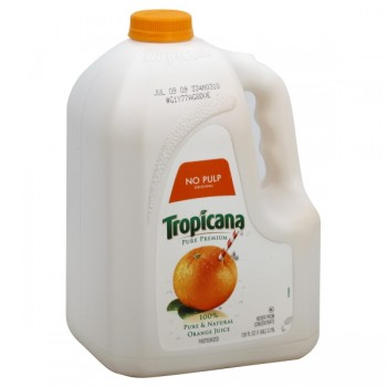 Tropicana Pure Premium 100% Pure Orange Juice Pulp Free